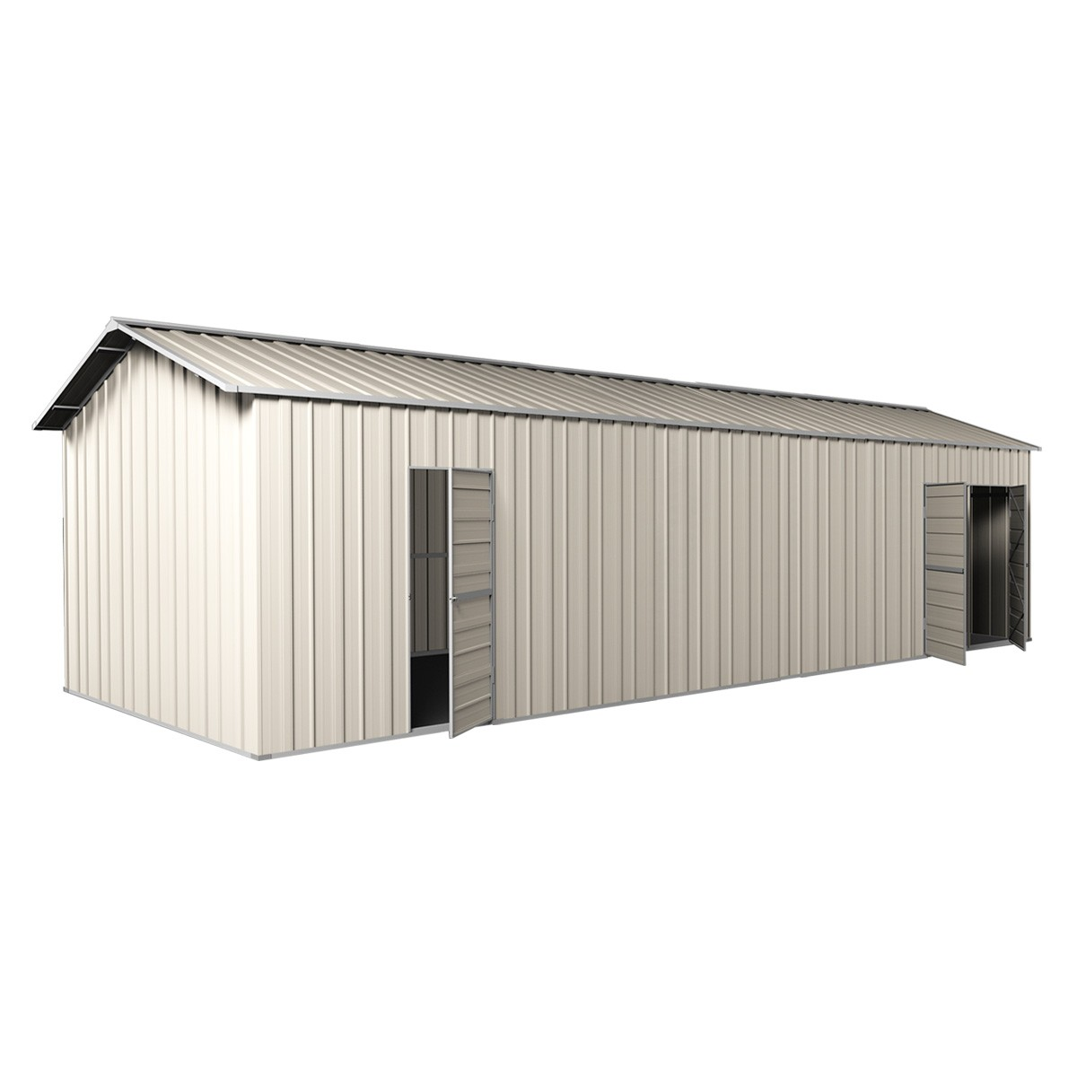 Double Garage Design In Sidcup: Garage Workshop Shed 3.6m X 9.12m X 3m Side Double Doors