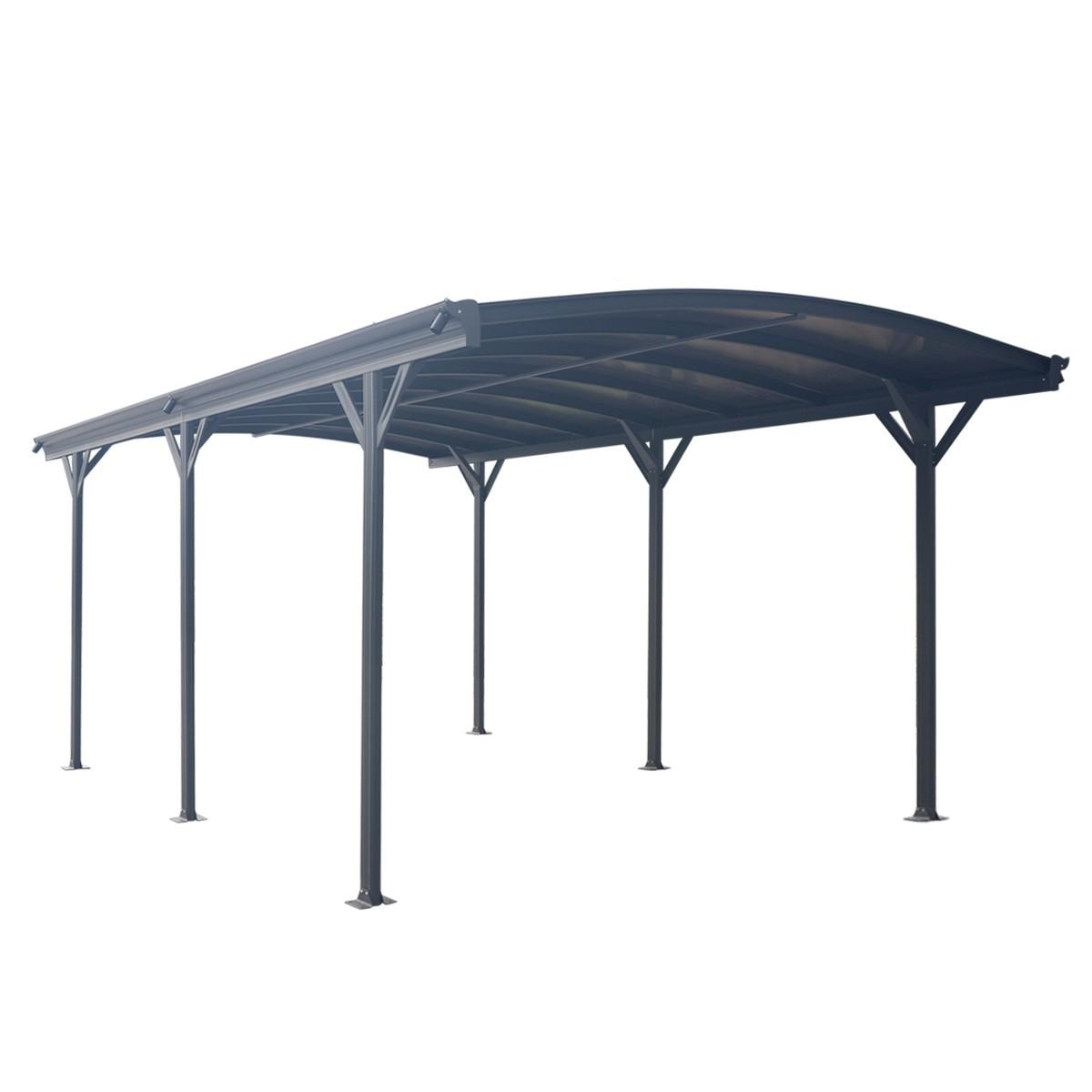 Aluminium Carport 3 X 5m Outdoor Canopy Car Port Portable