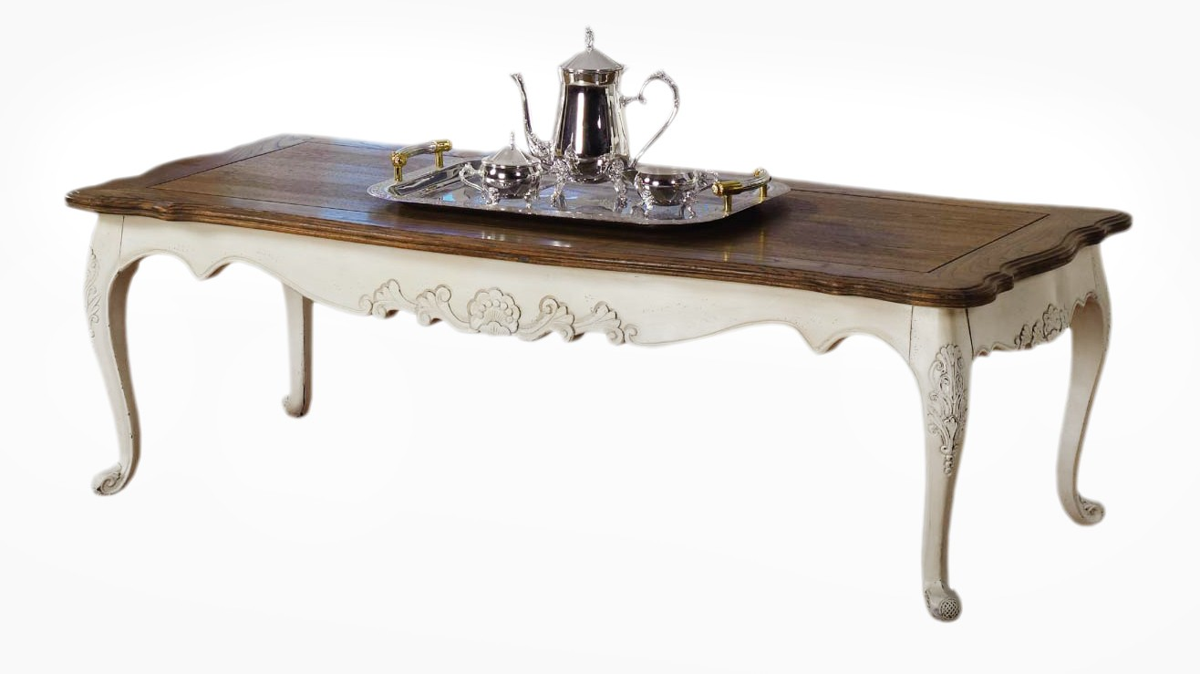 French Provincial Furniture Long Coffee Amp Tea Table In