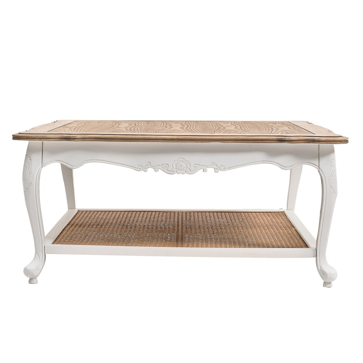 Hamptons French Coffee Table: French Provincial Furniture Square Coffee & Tea Table In