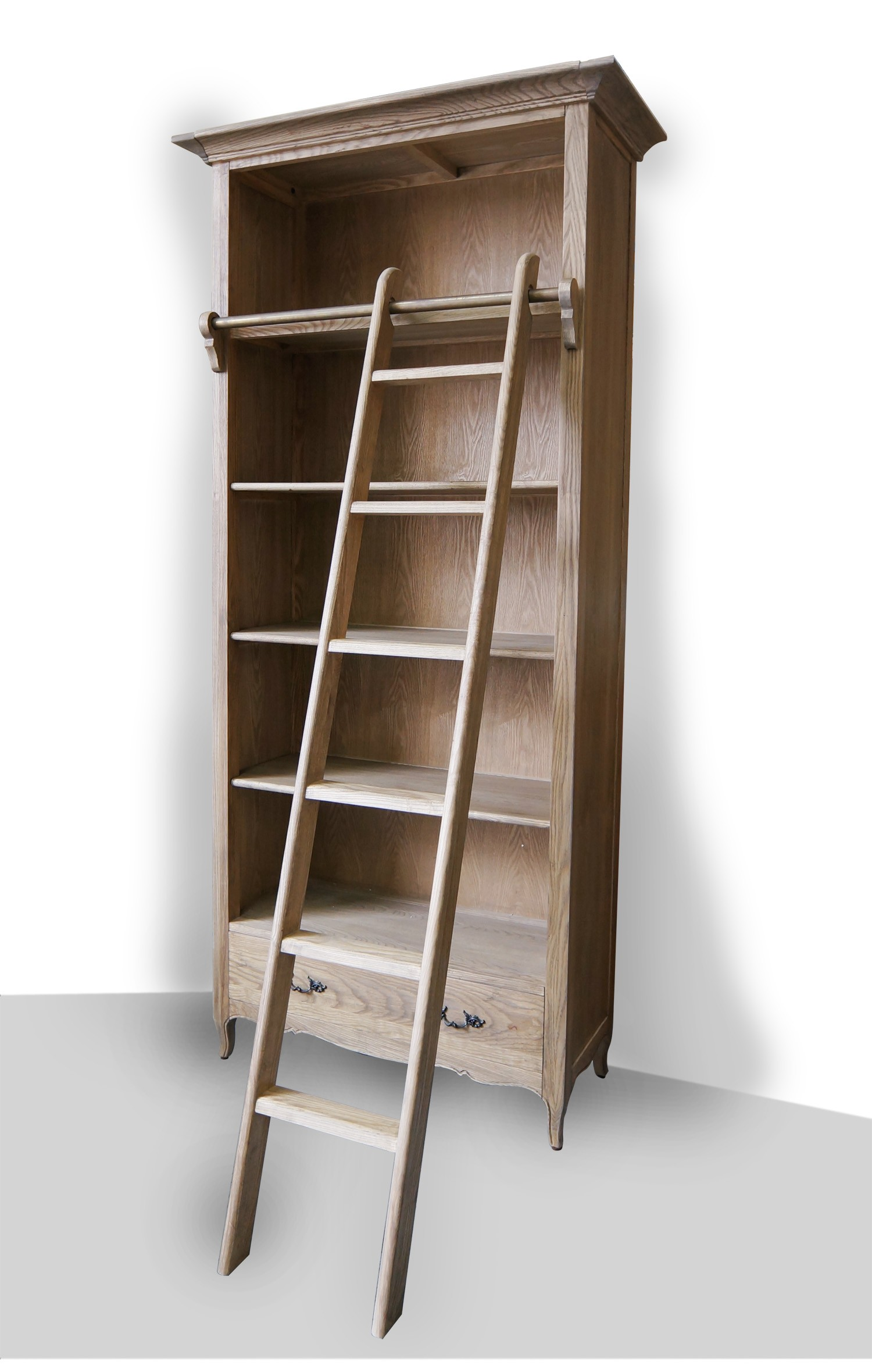with ladder bookcases tikspor large rolling bookshelf decoration bookcase ideas images library fascinating dfcafabb