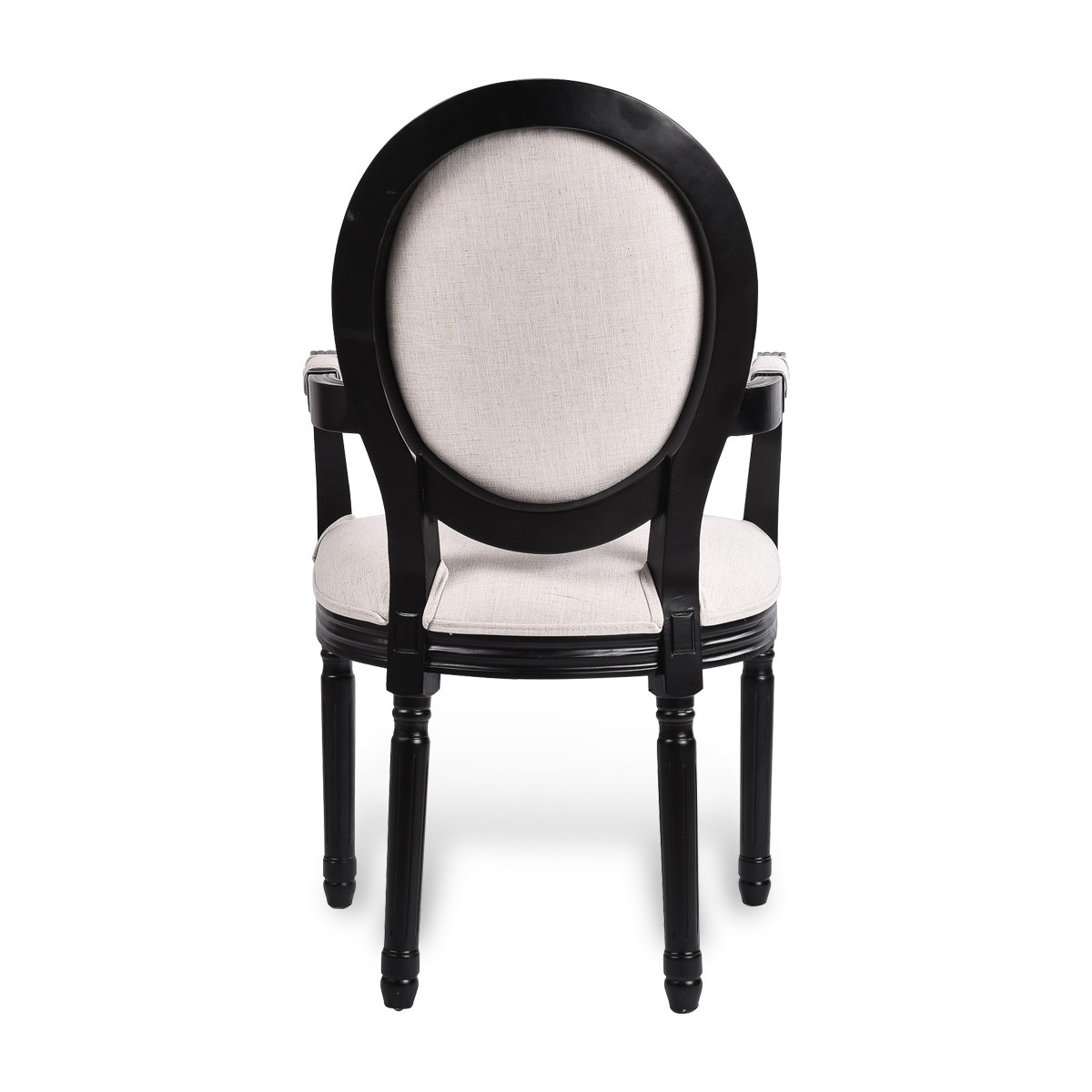Admirable Louis Dining Armchair Set Of 2 French Provincial Upholstered Carver Chair White Black Washed Oak Camellatalisay Diy Chair Ideas Camellatalisaycom