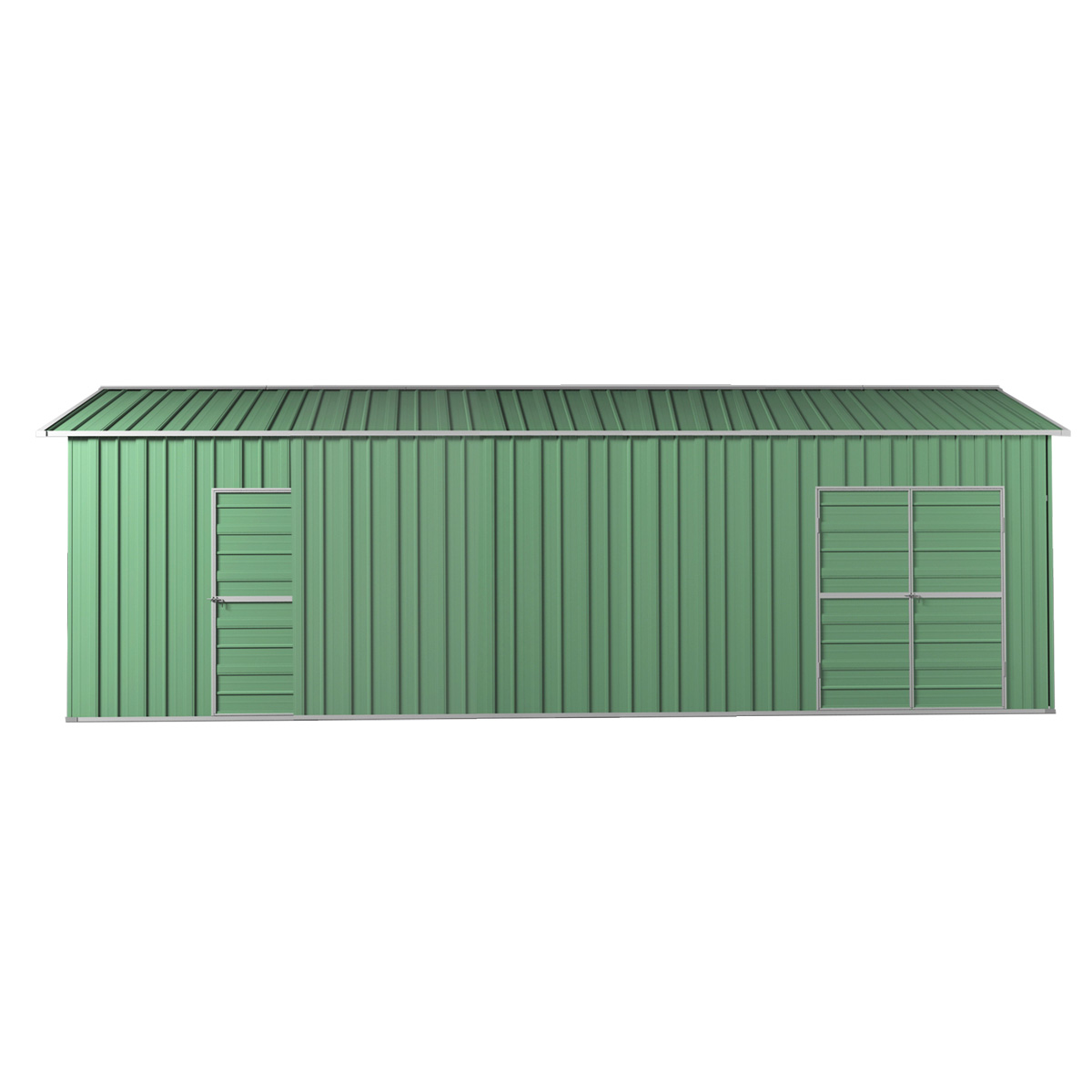 Garage Workshop Shed 3 4m X 9 12m X 3m Side Double Doors