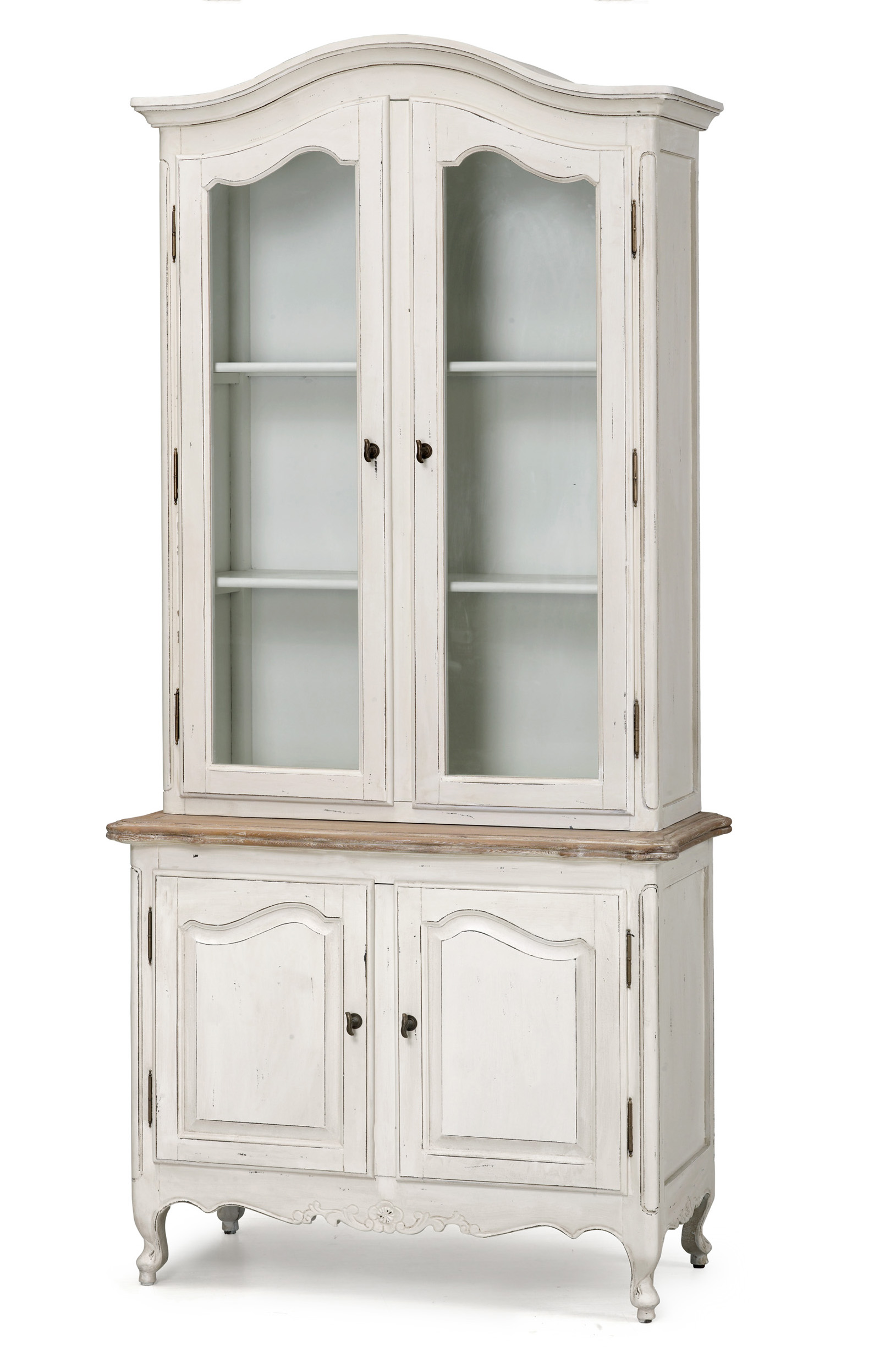 French Provincial Vintage Furniture Classic Display Cupboard...