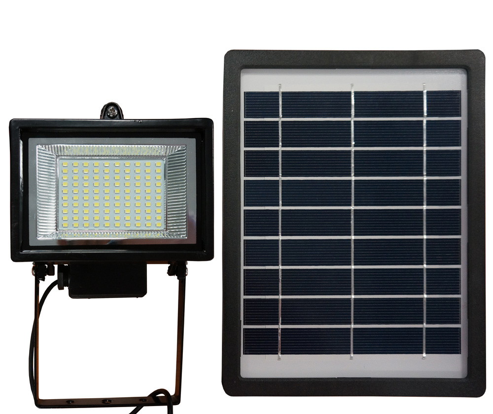 NEW Solar Light 100 LED Flood Light Spot - 4W Solar Panel