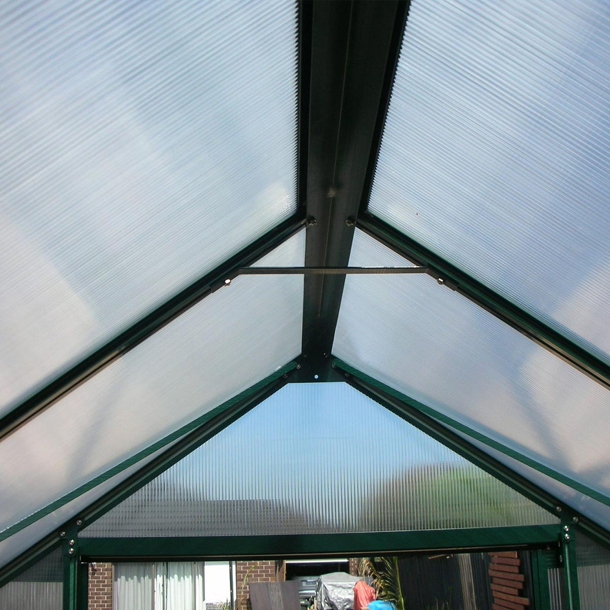 Pro Greenhouse 14 X 8ft 6mm Polycarbonate Green Hot House