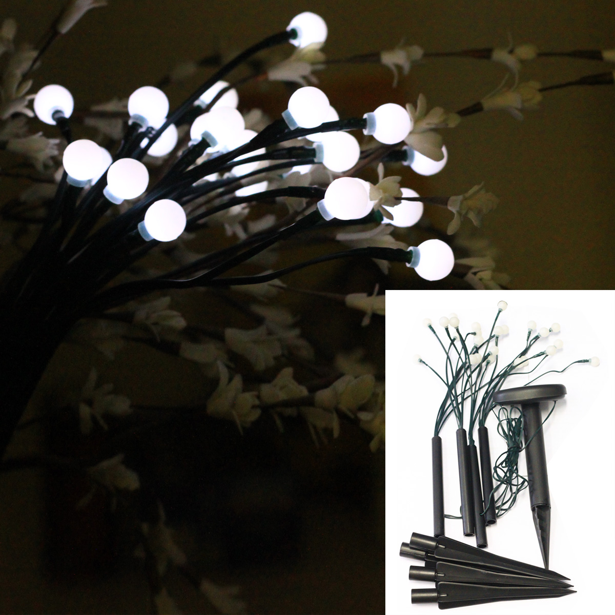 Solar Light - Party Fairy Lights 4 x 6 LED
