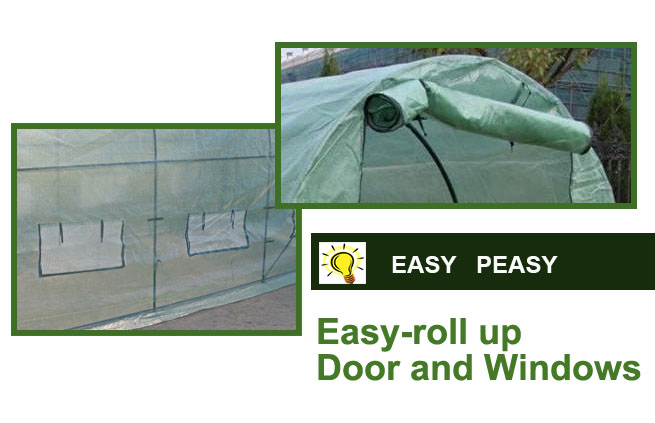 Easy Peasy Roll Up Window / Door